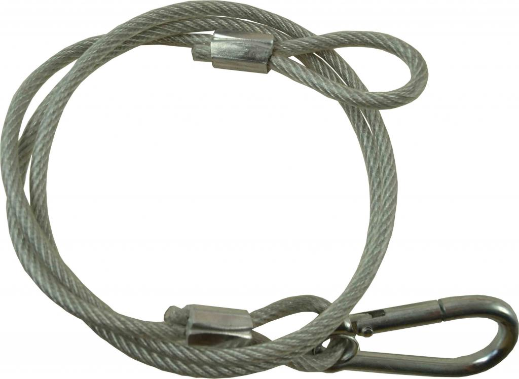 Cable seguridad acero 4mm