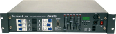 DIMMER 6 CANALES DMX - DM620